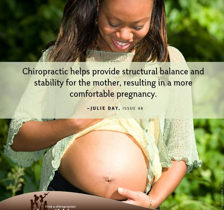 Chiropractic care during pregnancy: