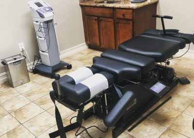 chiropractor rockledge,FL adjustment table