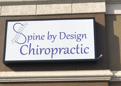 Rockledge/Suntree FL chiropractor sign